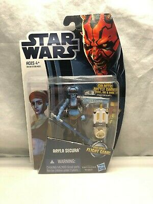 Star Wars The Clone Wars Aayla Secura CW14 MIB Free Shipping!