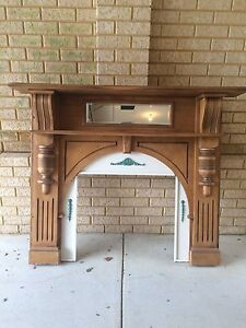 Decorative Fireplace Mantle Currambine Joondalup Area Preview
