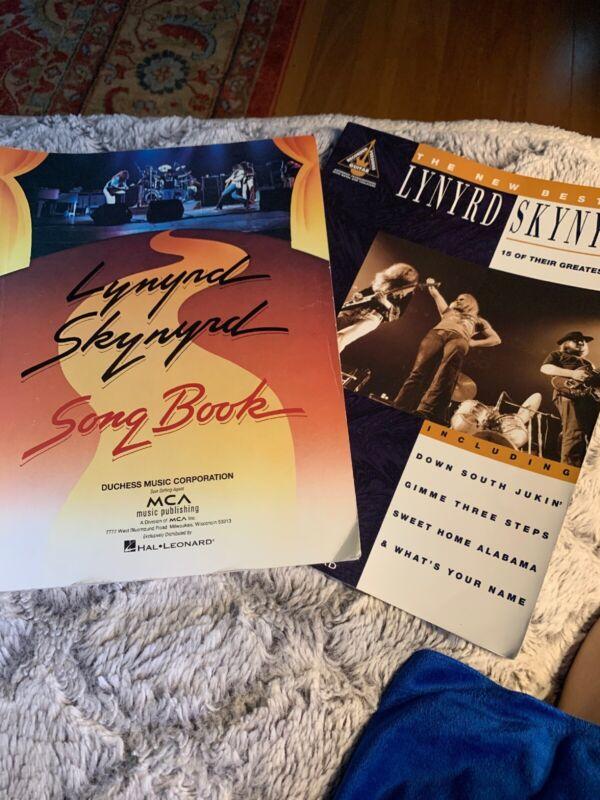 Lynyrd Skynyrd Song Books (2)