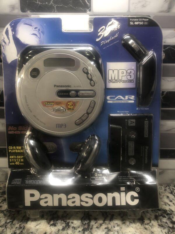 Panasonic SL-MP50 Portable CD Player MP3 Car Kit - brand new! Amazing!