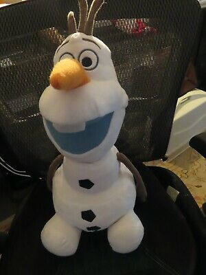 Disney Frozen 2 Large Plush Olaf Stuffed Animal Super Soft & Snuggly~17""