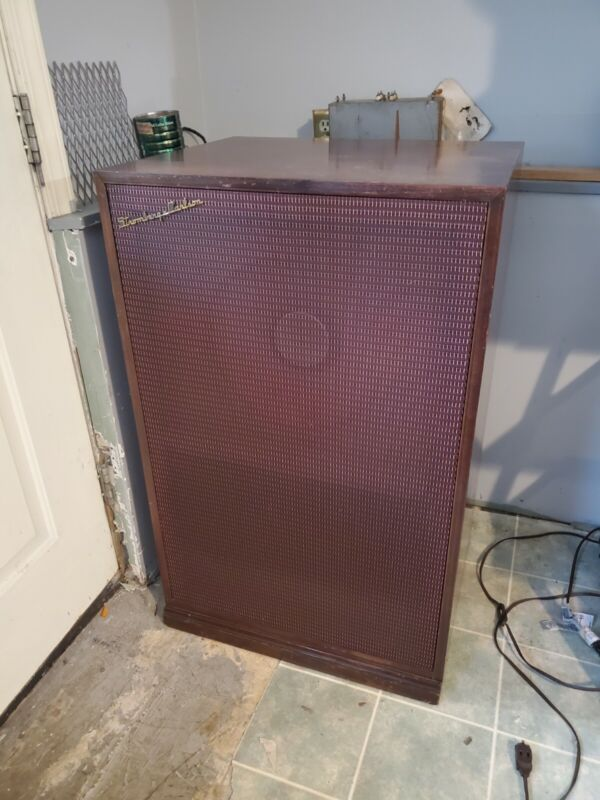 "Rare Stromberg Carlson Rf465 15"" Coaxial high end Speaker in custom 400 cabinet."
