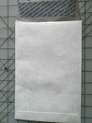 Dupont Tyvek Envelopes 6 X 9 Peel Seel Seal 100 Box Open End 75795
