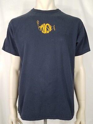 Phish Summer Tour 2003 dark blue organic cotton SS