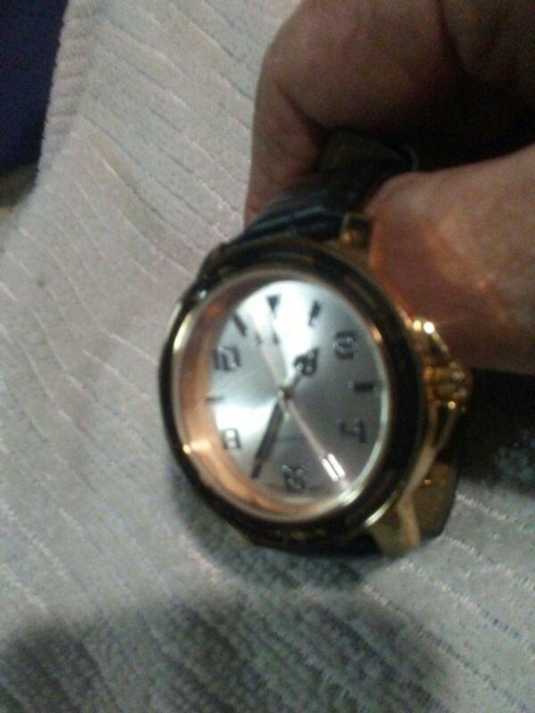 "Vivara by Emilio Pucci Rare Vtg Mens Ladies Watch Rose Gold 6.5""-8"" Band Running"