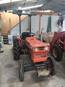 Kubota Tractor L185 1983 + range of implements  Seville Yarra Ranges Preview