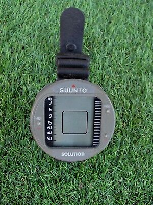 SUUNTO SOLUTION DIVE COMPUTER NOT USED FOR A FEW YEARS SPARES OR REPAIR
