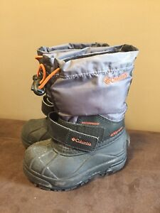 Columbia boots, boys size 8