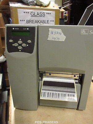 ZEBRA S4M S4M00-200E-0200T Thermo Label LAN + USB Drucker Printer 113314 INCH