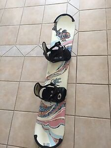 Option Sweet Women's Snowboard with Bindings