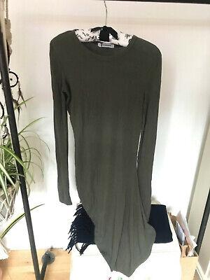 T By Alexander Wang Modal Khaki T shirt dress Size S