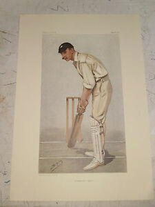 VANITY FAIR PRINT CRICKET FLANNELLED FIGHTER