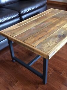 Handcrafted coffee table $195