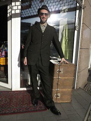 VEB Lössnitz Kleidung Herren Anzug grau 60er True VINTAGE 60s men suit grey GDR