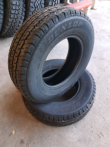 195R15C Dunlop 175E Light Truck Tyres - New Tyres St Albans Brimbank Area Preview