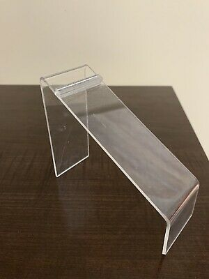 Acrylic Shoe Display Holder Riser 6 Length 4 Height 2wide