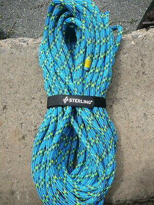 Sterling 24 Strand Arborist Rope Tree Climbing Line 11.5mm X 118 Scion Blue