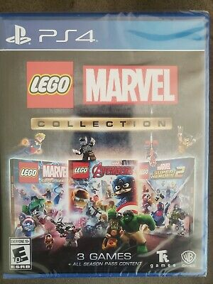 Lego Marvel Collection (PS4, PlayStation 4) BRAND NEW & FACTORY SEALED