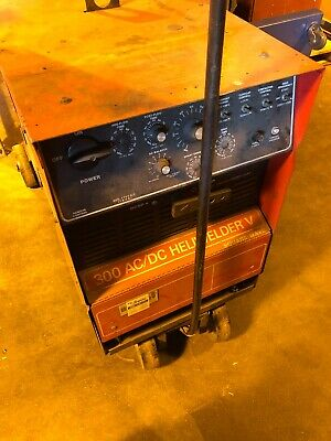 Airco 300 Amp Acdc Heliwelder V Square Wave Power Source