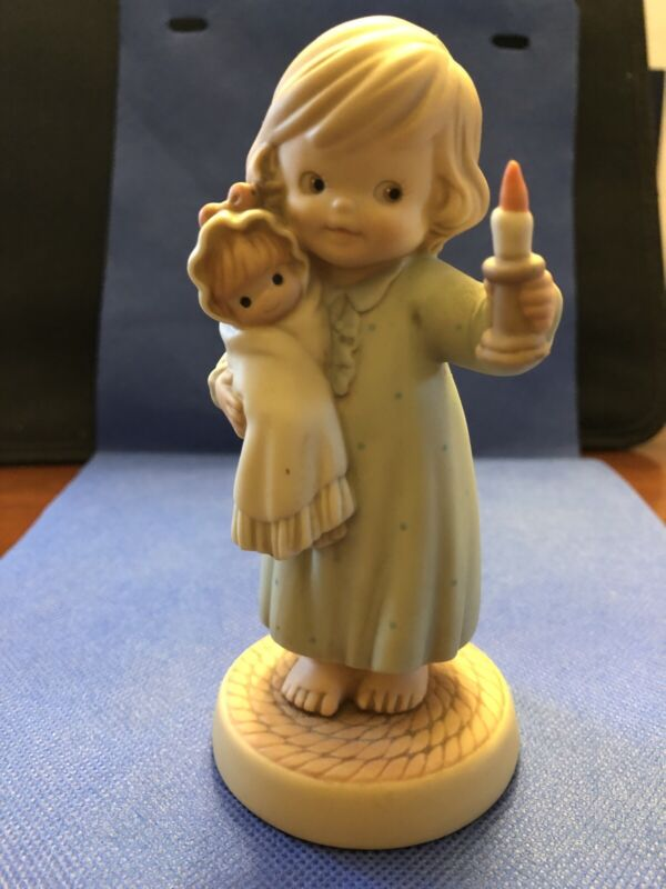 RARE Enesco Memories of Yesterday Let Your Light Shine...Hand Numbered