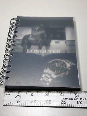 Longines 5x7 2014 2025 Notebook Notes Paper Calendar Original Rare Planner