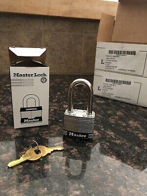 12 Master Lock Laminated Steel Commercial Padlocks No.1 Nib