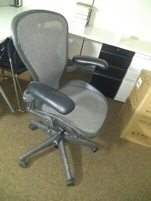 Herman Miller Aeron Office Chair - Graphite Size B 8 Available
