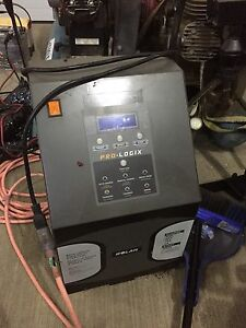 Pro-logix battery charger 12 and 24 volt