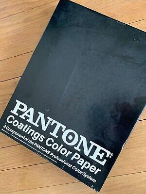 Vintage Pantone Paper Assortment Box 10 By 13