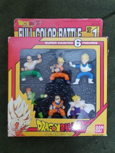 RARE 1994 Vintage Bandai Dragonball Full Color Battle Figure Model Doll Toy