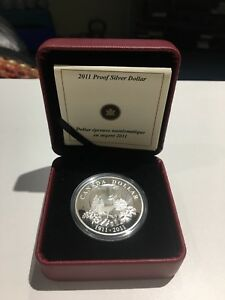 Royal Canadian Mint 2011 Proof Silver Dollar