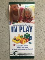 Parent-child, Speech and language play group