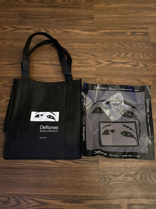 Deftones Ohms Postmates Guisados Taco Day Tote Promo Items
