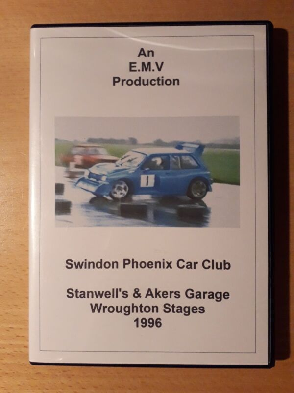 1996+Stanwell%27s+%26+Akers+Garage+Wroughton+Stages+Rally+DVD+Swindon+Phoenix+Car...