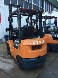 Diesel 1.8 ton Toyota 2 stage 3.7mt mast low hrs 08325 Lidcombe Auburn Area Preview