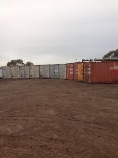 20 and 40ft shipping containers for storage tradies plumbers painters Lonsdale Morphett Vale Area Preview