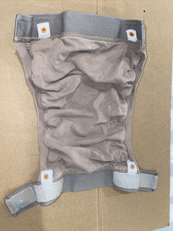 gDiapers - Group 4 - Large Light Brown Gpant, 2 Liners, and 2 Gcloth Inserts