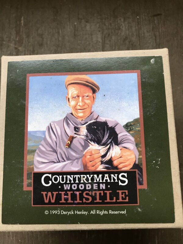 Country Mans Wooden Whistle 1993 Deryck Henley
