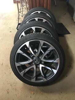 Holden VF Rims & Tyres 19 inch x4 series 2 (2016)