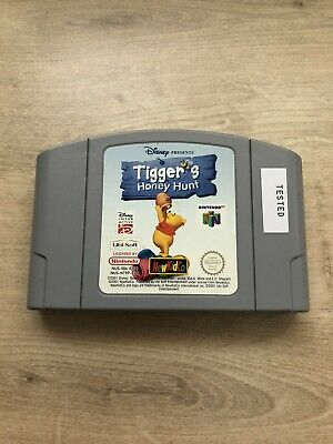 Tiggers Honey Hunt Nintendo 64 N64 PAL Cart Only Tested
