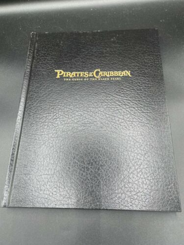 RARE AUTHENTIC PIRATES OF CARIBBEAN BLACK PEARL FYC BEST SCREENPLAY AUTOGRAPHED