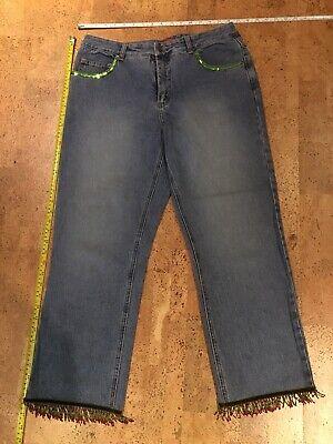 Element Damen Jeans (ELEMENTS Finest Clothing Jeans Gr. 42 Damen Hose Jeanshose Edel Designer TOP)