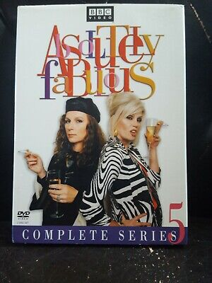 Absolutely Fabulous - Series 5 (DVD, 2004, 2-Disc Set)