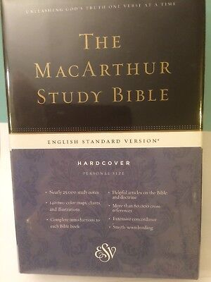 The MacArthur Study Bible Hb Personal Size