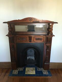 FIREPLACES x 4 - ANTIQUE * must go by Sun 13th Sept Sandringham Rockdale Area Preview