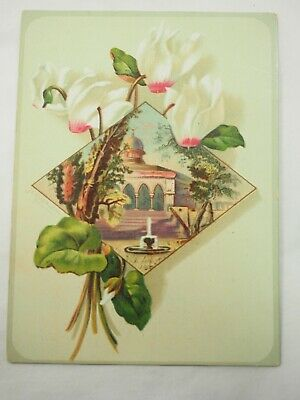 Magic Yeast Quickest and Best in the World E.W. Gillett Victorian Trade Card (Best Magic Card In The World)