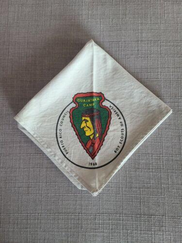 Boy Scouts of America Concilio De Puerto Rico Camp Guajataka Neckerchief 1966