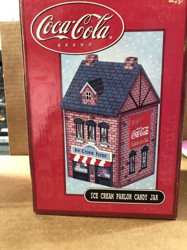 Coca Cola Ice Cream Parlor Candy Jar