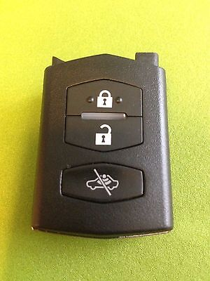 MAZDA 2 3 4 5 6 RX8 MX5 3 BUTTON CENTRAL LOCK ALARM REMOTE KEY FOB VISTEON 41522