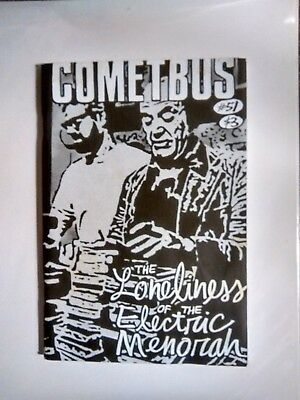 "COMETBUS #51 punk zine- Aaron Cometbus* ""The Loneliness of the Electric Menorah"""